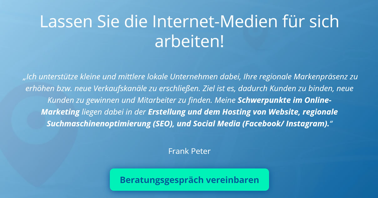 Internetagentur Bütthard ▶︎ FP Webbusiness » Online Marketing, ✔ Webdesign, Social Media, Suchmaschinenoptimierung, Online-Marketing-Manager