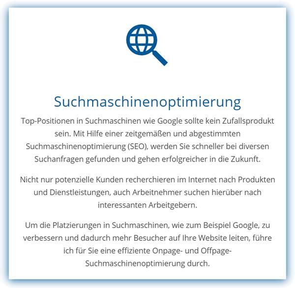 SEO Suchmaschinenoptimierung für  Bütthard - Oesfeld, Tiefenthal, Gaurettersheim, Gützingen und Hetzenmühle, Höttingen