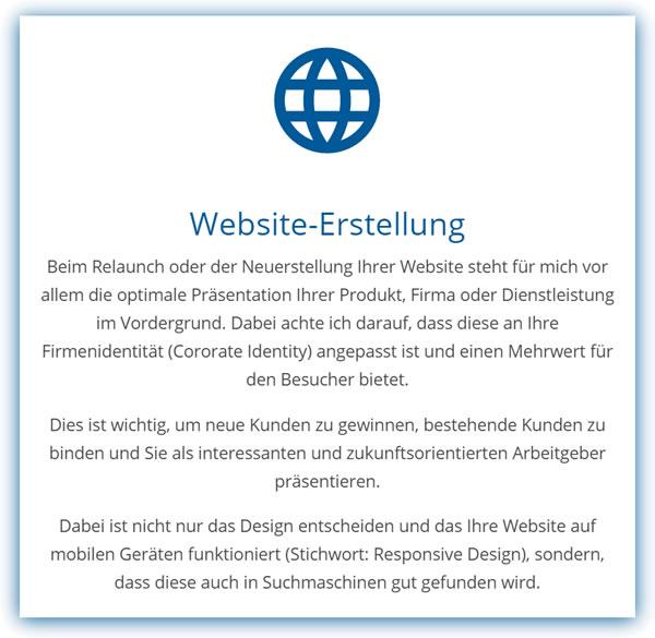 Webdesign Homepage Website Erstellung in  Bütthard, Gaukönigshofen, Grünsfeld, Gelchsheim, Wittighausen, Kirchheim, Giebelstadt oder Riedenheim, Sonderhofen, Geroldshausen